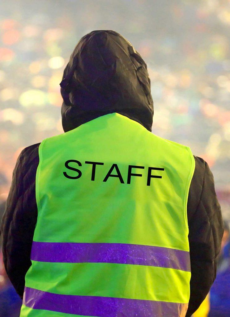 agent de securité evenementiel staff